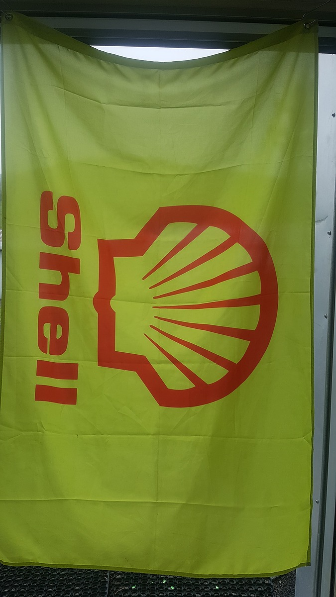Fuel / Oil Flags - Shell