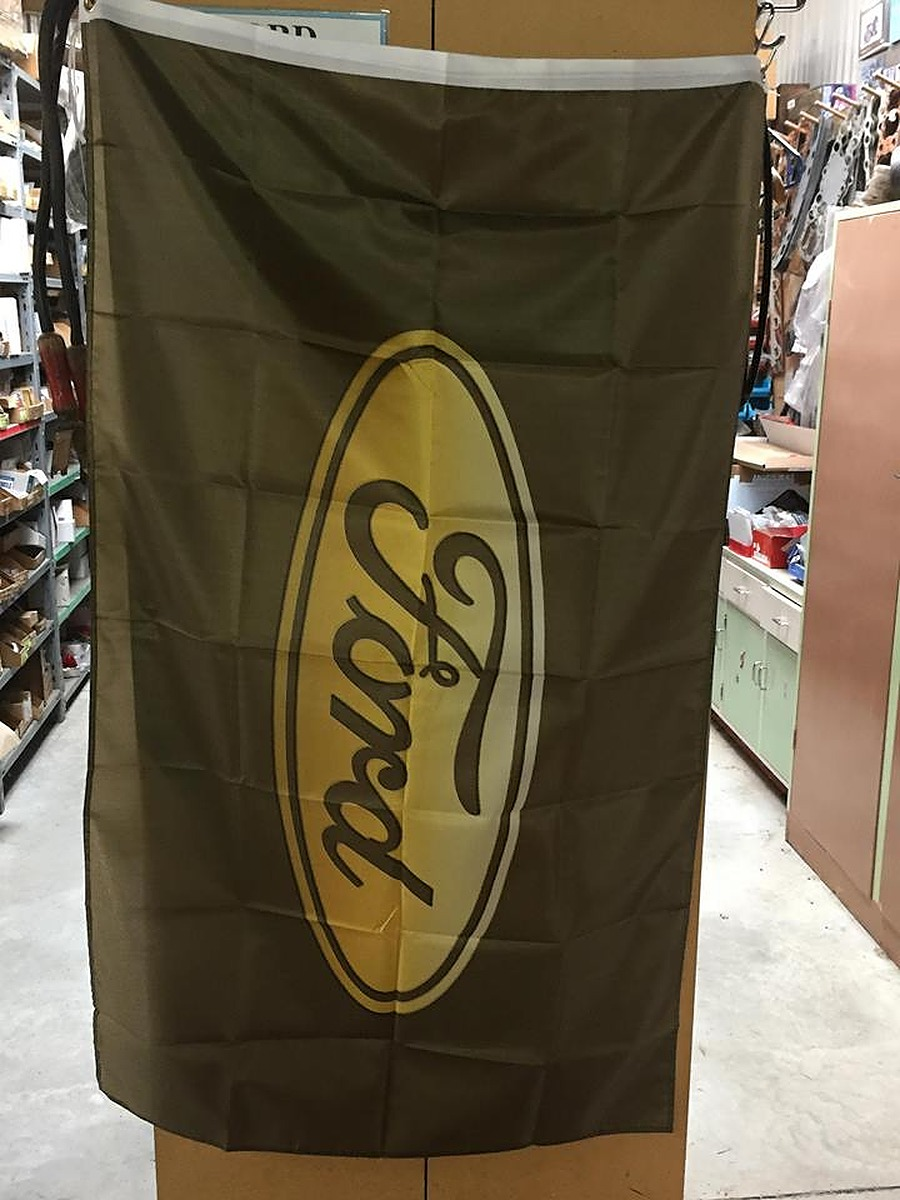 Ford Flags - Ford Yellow