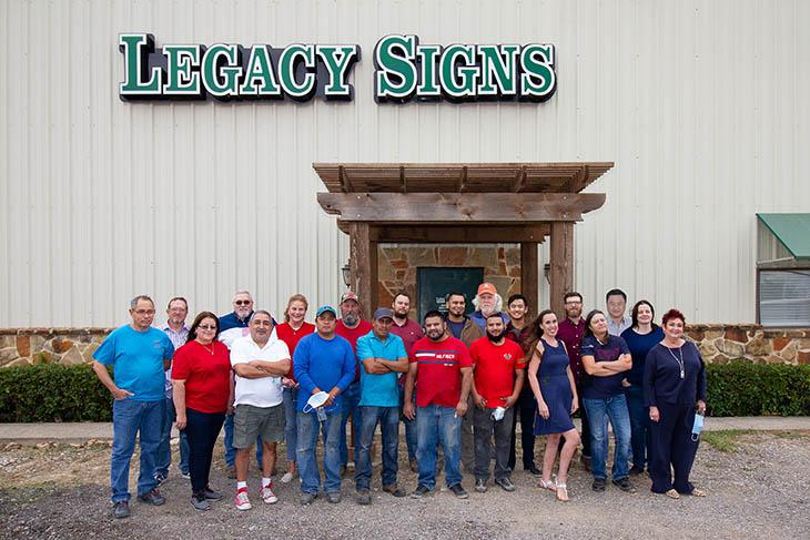 Legacy Signs Crews