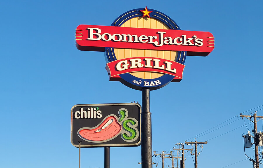 Restaurant and Bar Signs in Dallas/Fort Worth