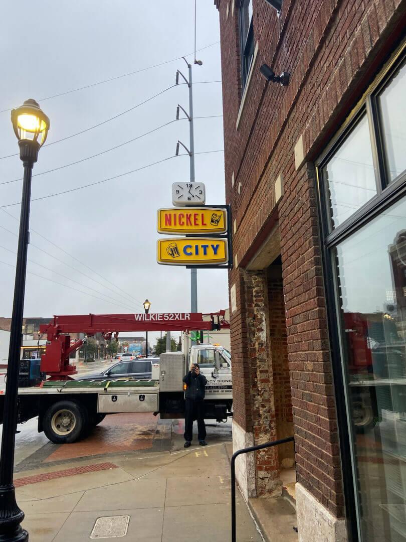 Blade Sign Design & Installation Dallas/Fort Worth