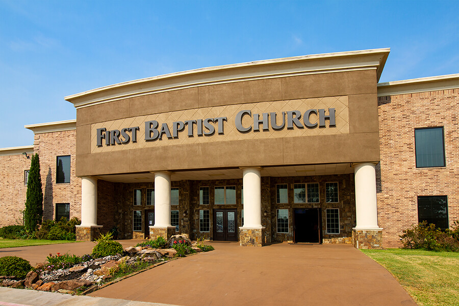 Custom Fabricated Church Signs for Dallas Fort Worth