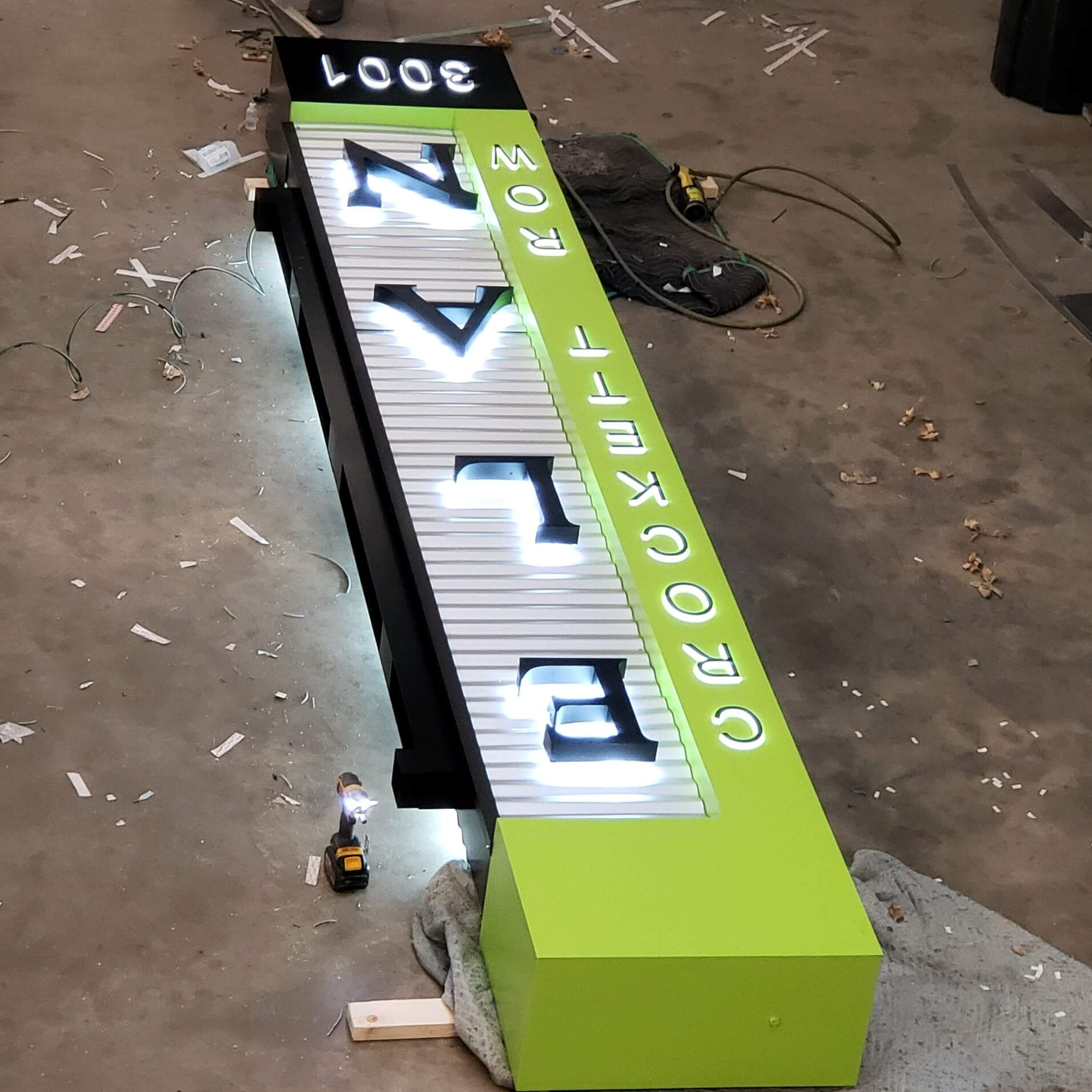 Sign Design, Fabrication, and Installation Watauga, TX