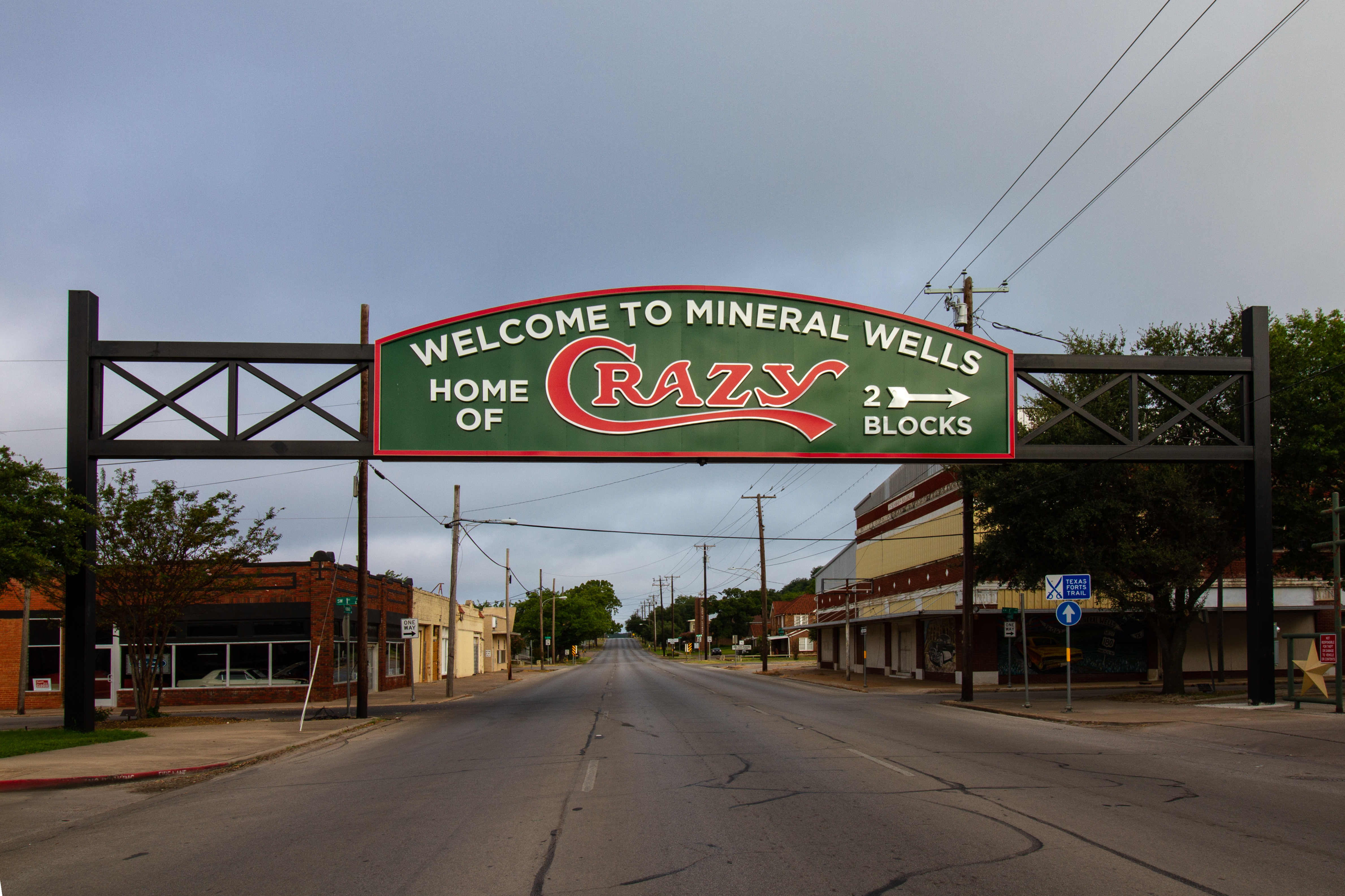 Legacy Signs of Texas Recreates Famous Mineral Wells 'Crazy' Sign