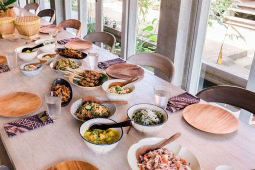 Preparing an Authentic Balinese Feast at Tresna Bali Cooking School by Passport to Wellness