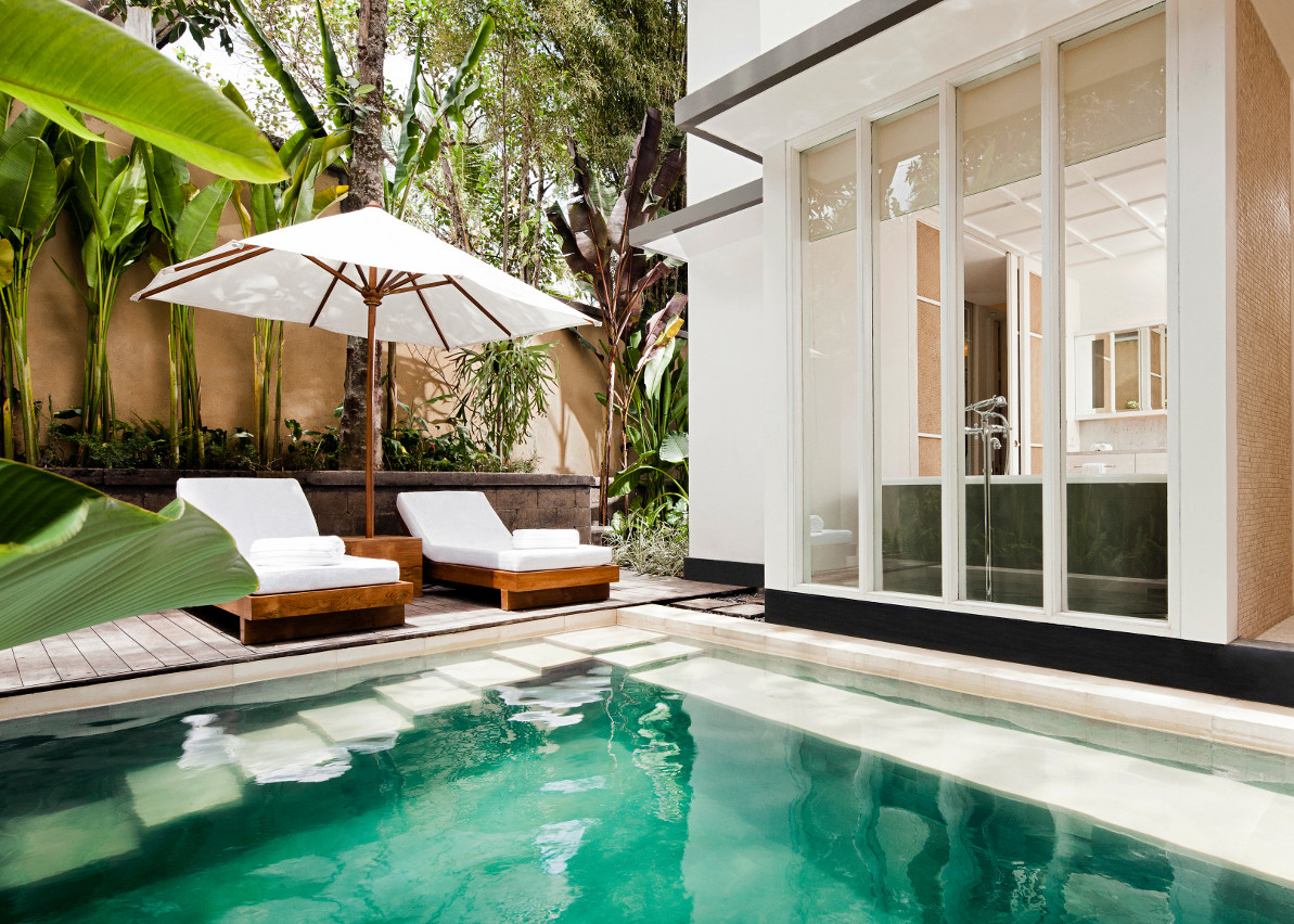 Your own private pool.