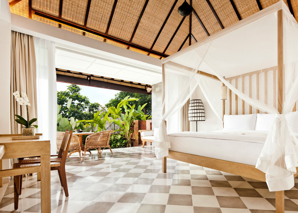 Luxurious Villas.