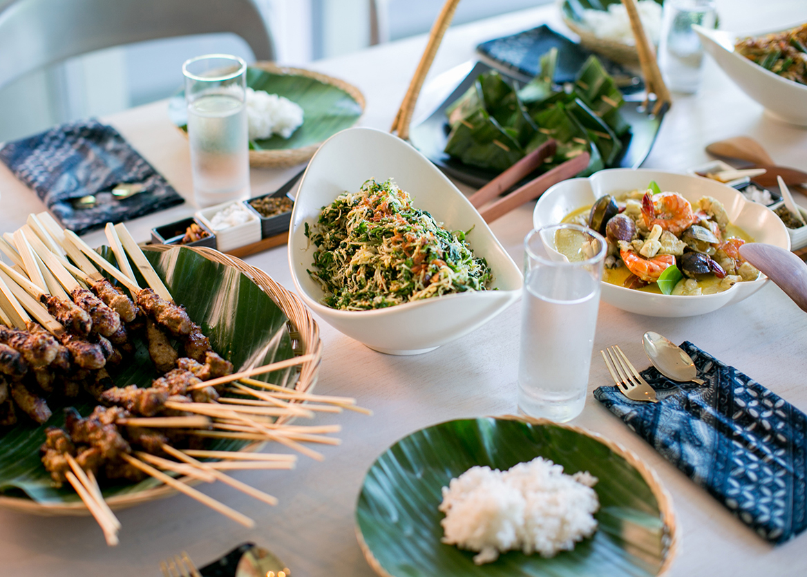 Enjoy Traditional Balinese Dishes.