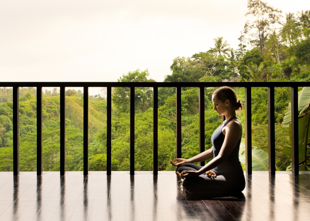 Enjoy peaceful guided meditations and yoga.