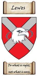 Lewes crest.