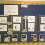 A display of the children's work in our art gallery