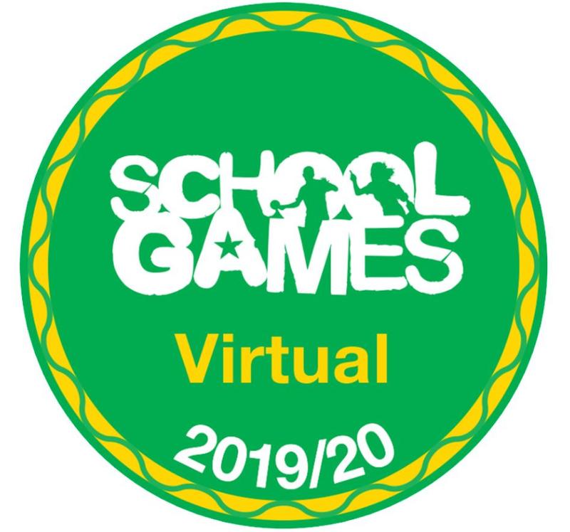 Virtual School Games award