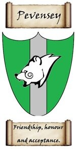 Pevensey crest.