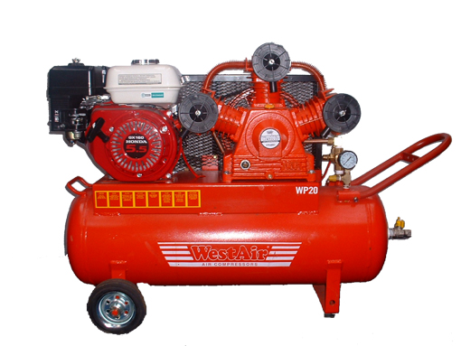 a 20cfm Compressor from West Air