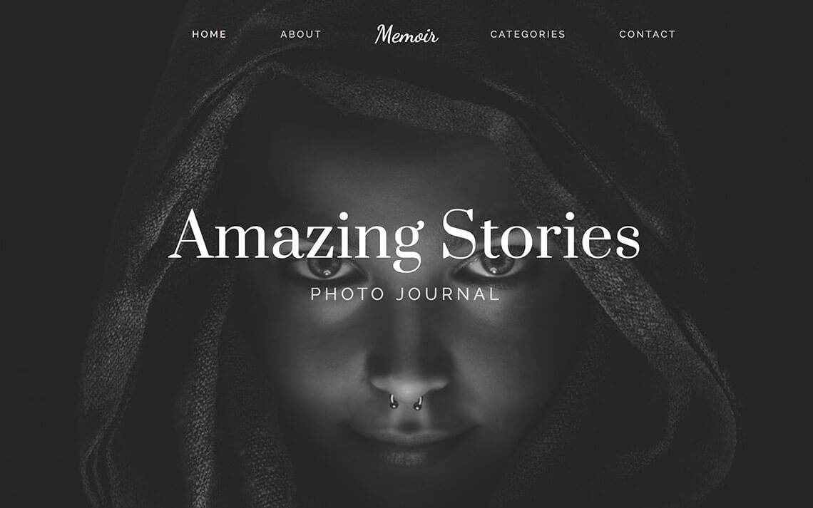 New photo blog theme