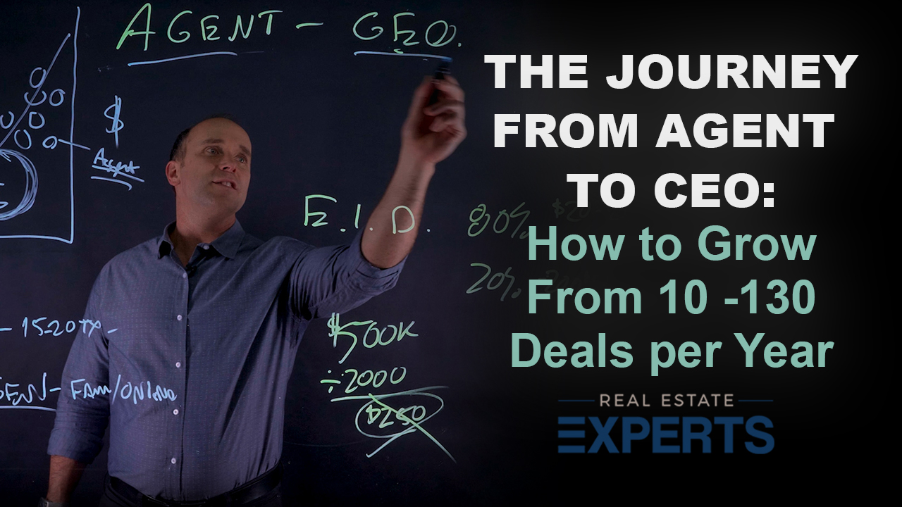 How to Go From Agent to CEO of Your Real Estate Business