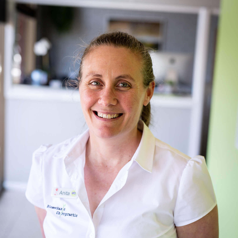 Anita Cox Practice Manager, Limestone Coast Chiropractic Naracoorte