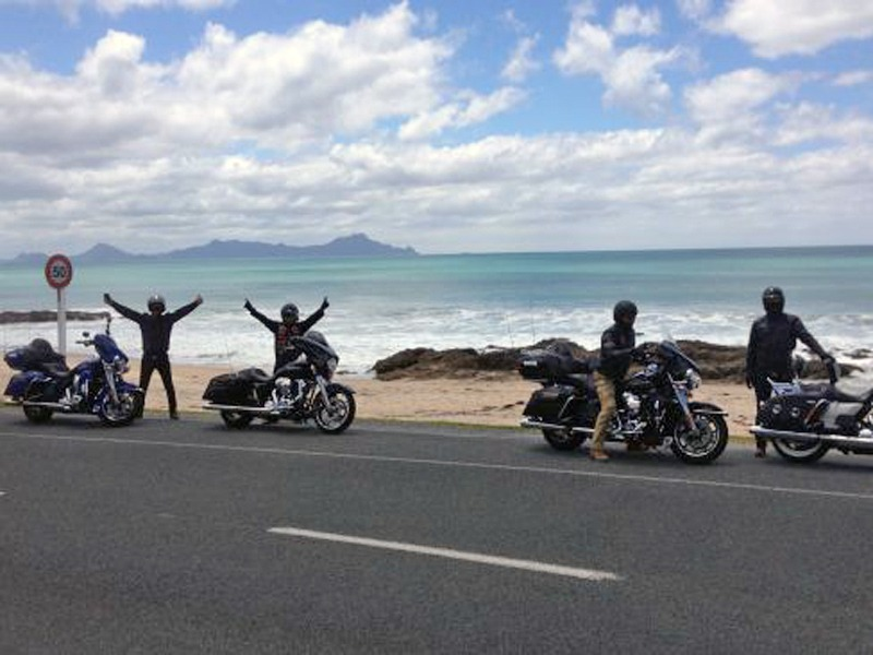 Day 3 - Tianjin HOG Harley Tour North Island New Zealand