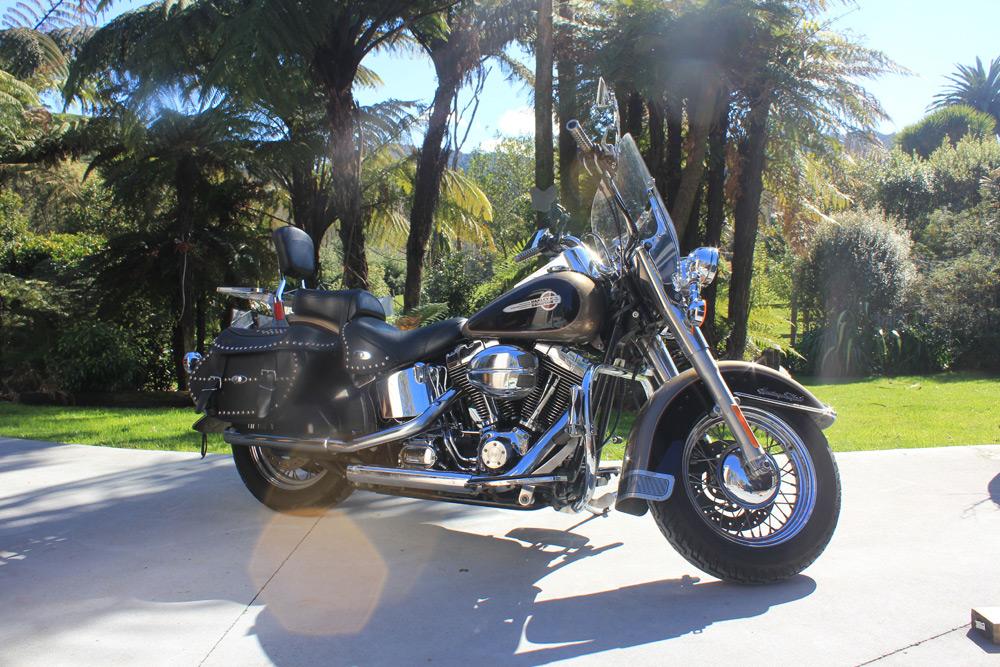 Harley Davidson Motorcycle FLSTC Heritage Softail Classic