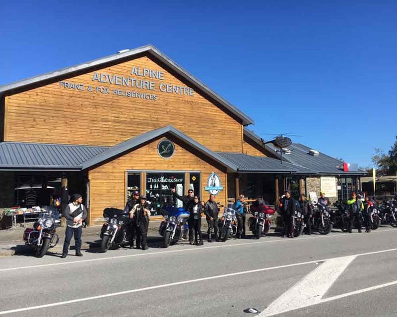 8 day Motorbike tour of the South Island