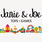 Janie and Joe the best toy store in Malaysia logo