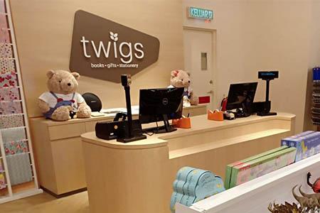 Twigs store photo