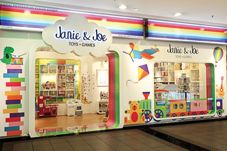 Janie and Joe the best toy store Malaysia photo