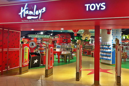 Hamleys store photo