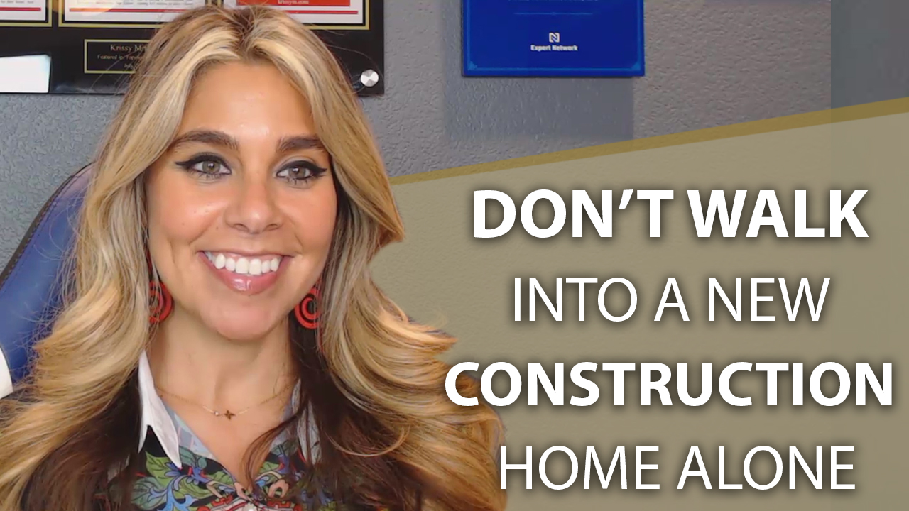 Don't Buy a New Construction Home Without an Agent