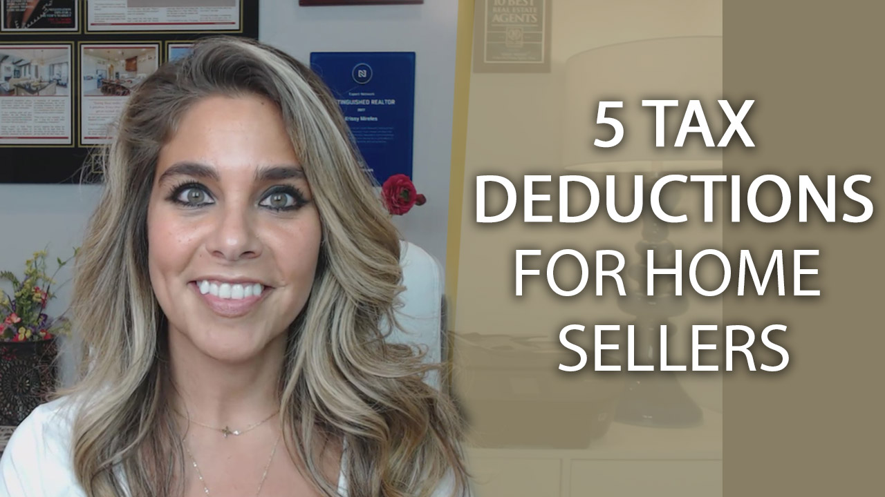 5 Tax Deductions for Home Sellers