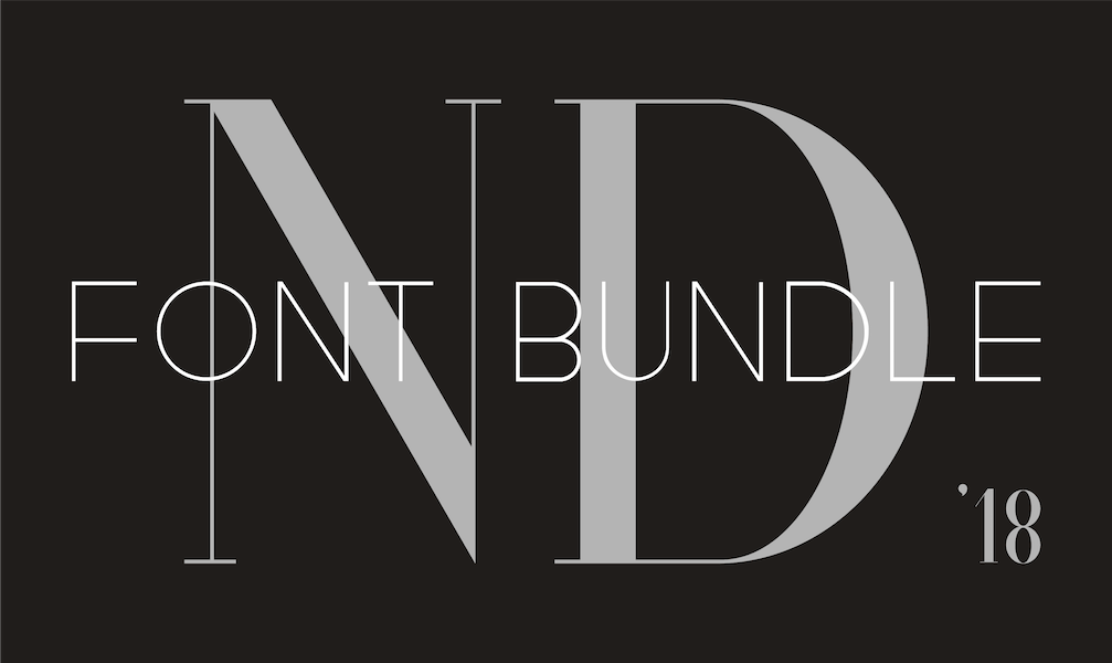 ND Font Bundle