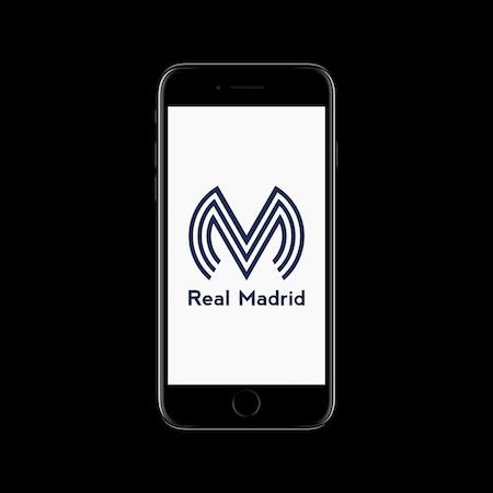 FC MINIMALISM -Real Madrid IPHONE WALLPAPER