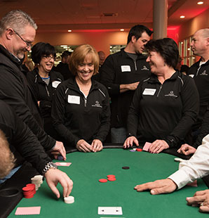 Casino night for Charter employees