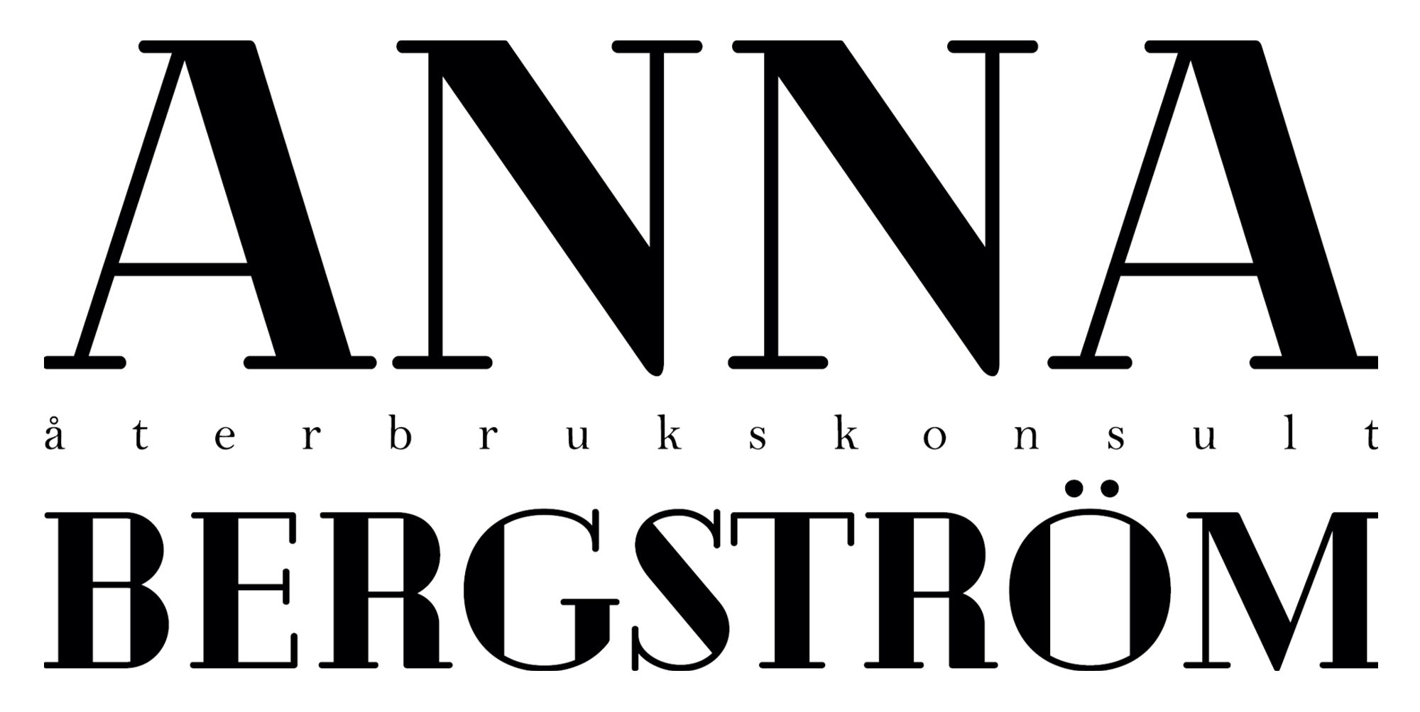 Anna Bergström Återbrukskonsult logga