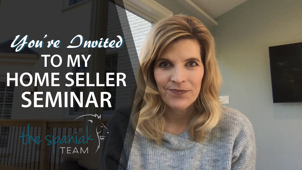 You're Invited to My Upcoming Home Seller Seminar