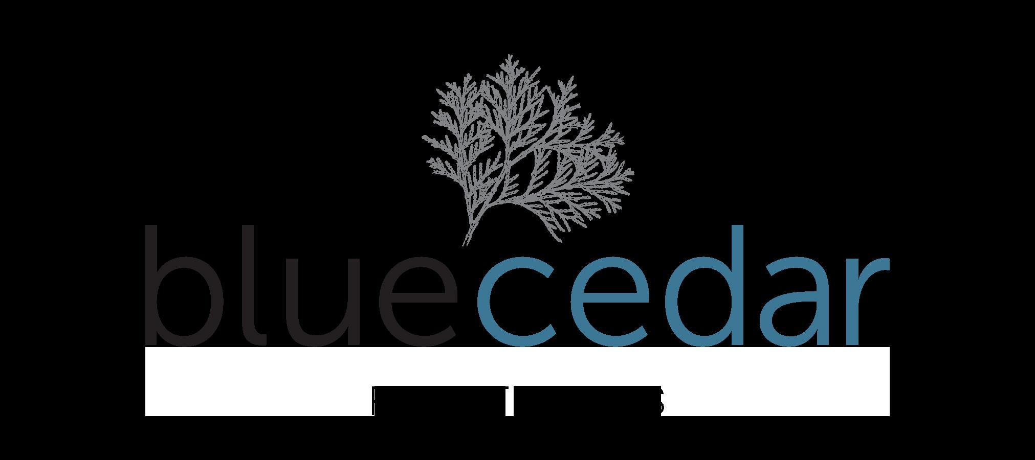 dark Blue Cedar logo