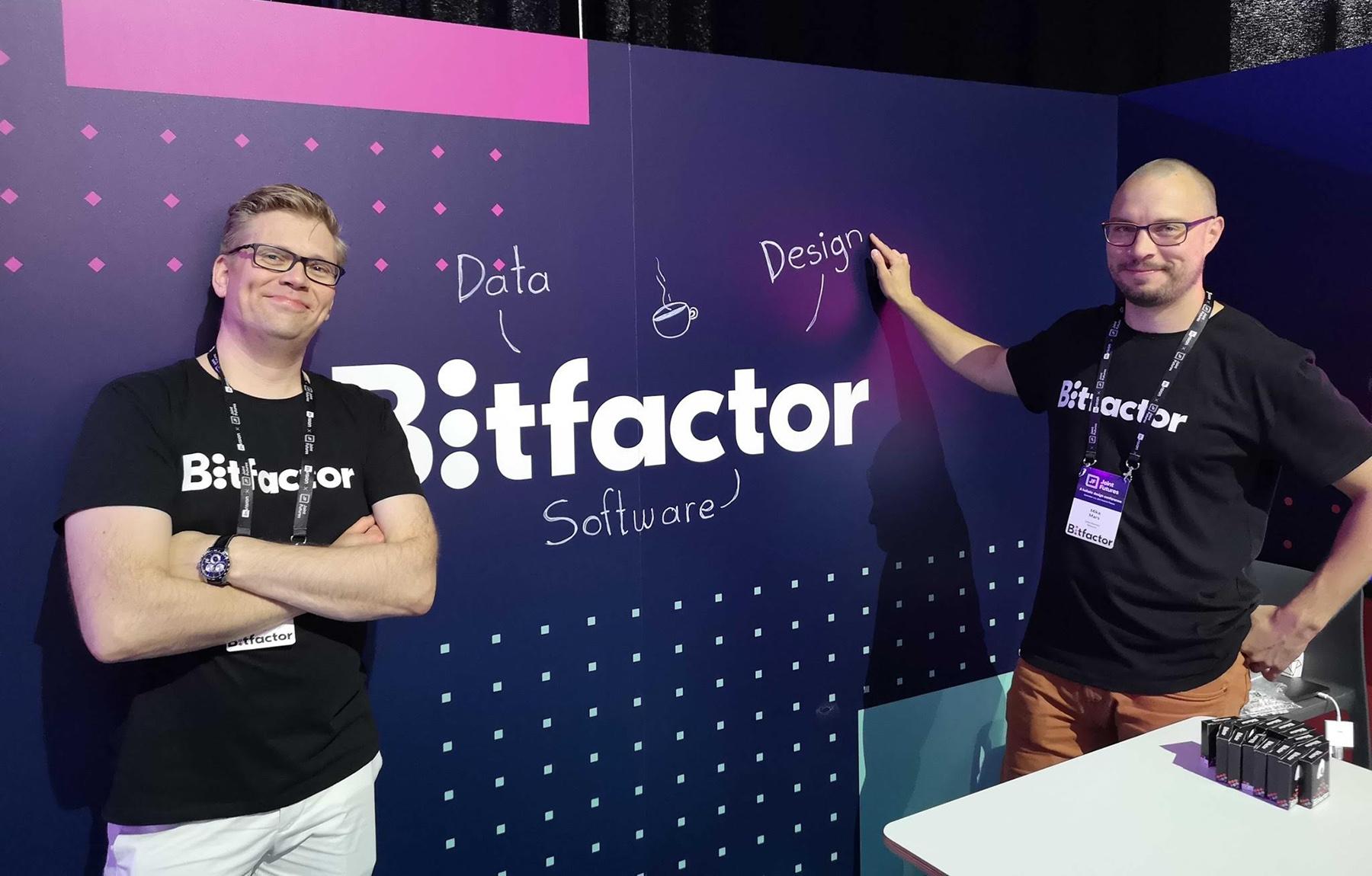 Bitfactorin Joint Futures -ständi.