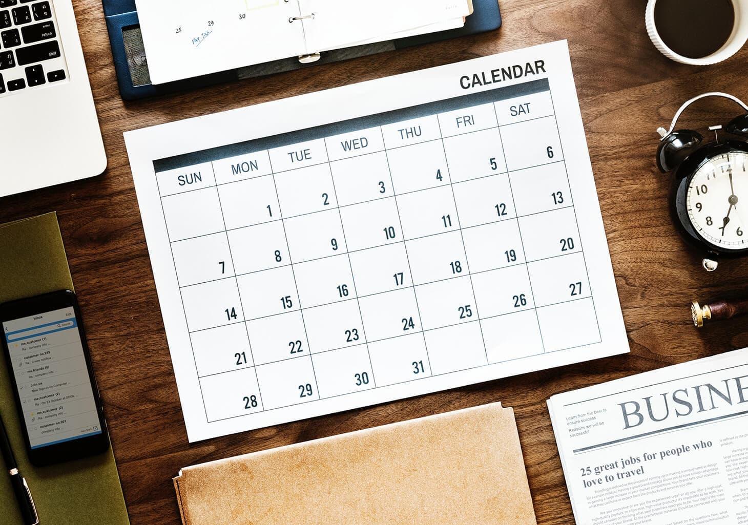 Q3 2018 Startup Tax Deadlines