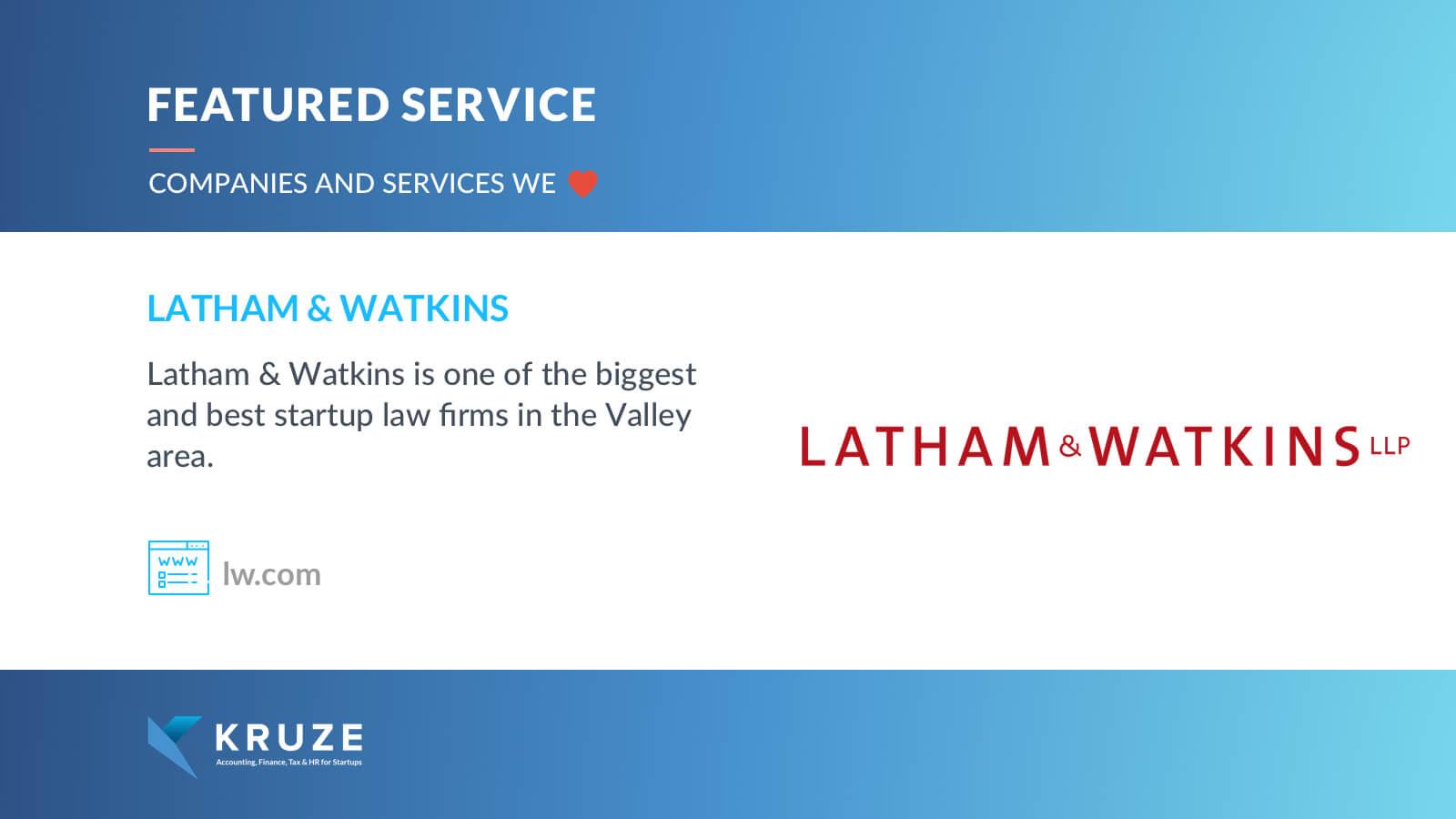Featured Service - Latham & Watkins