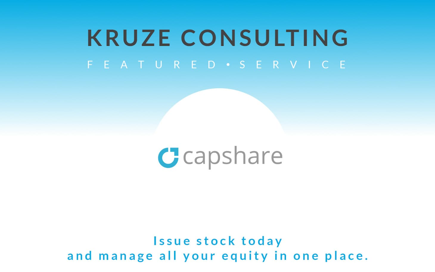 Featured Service - Capshare