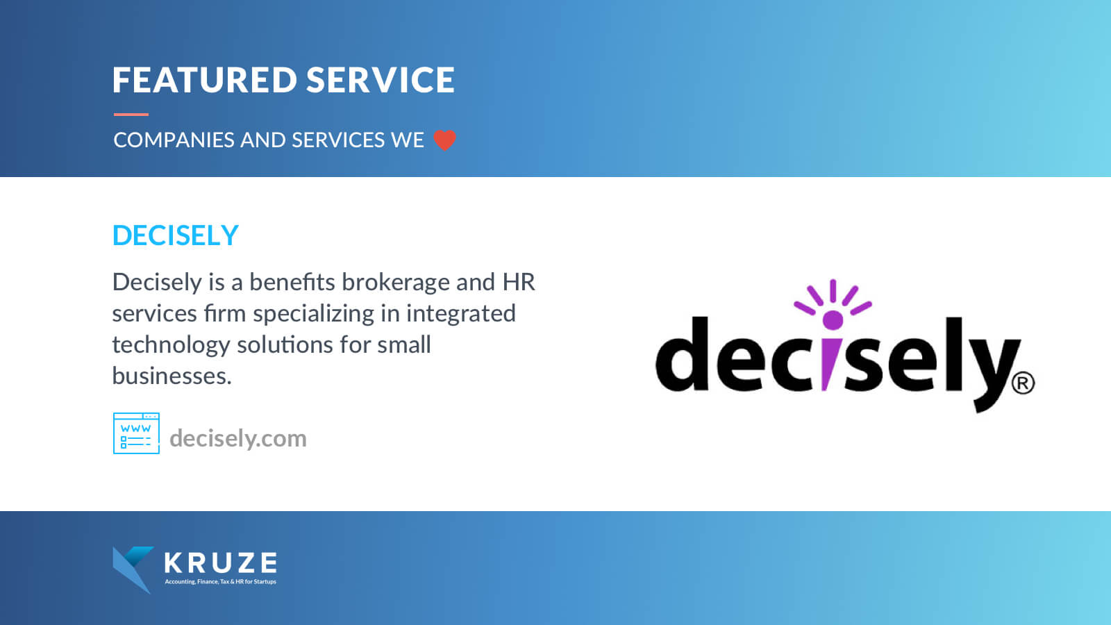 Featured Service - Decisely