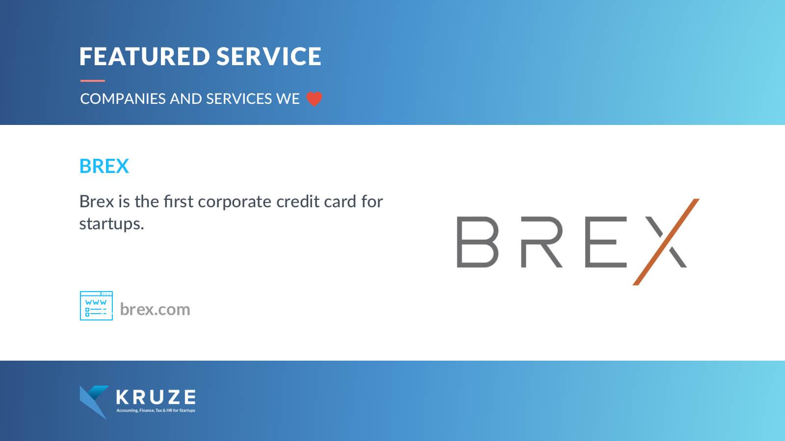 Featured Service - Brex
