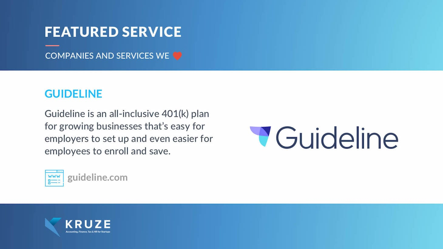 Featured Service - Guideline 401k
