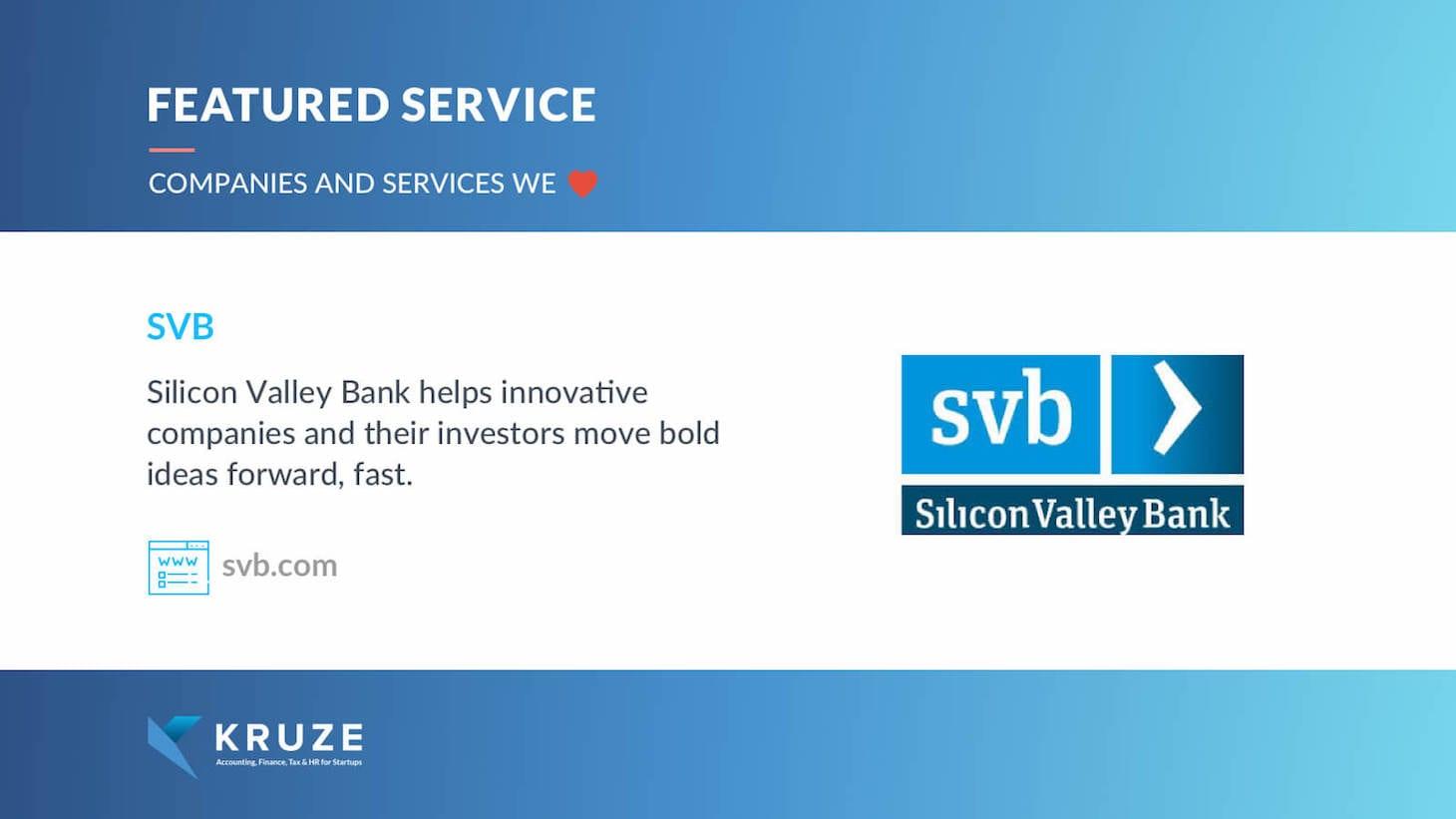 Featured Service - SVB