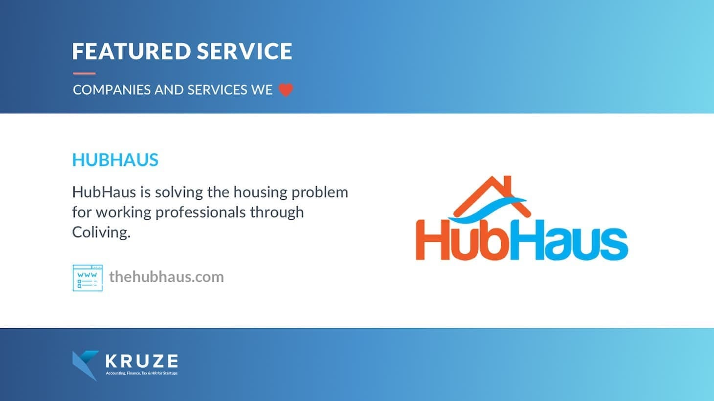 Featured Service - HubHaus