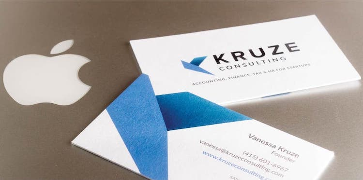 Kruze business cards