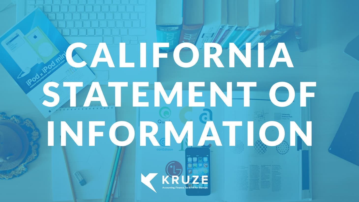 California Statement of Information