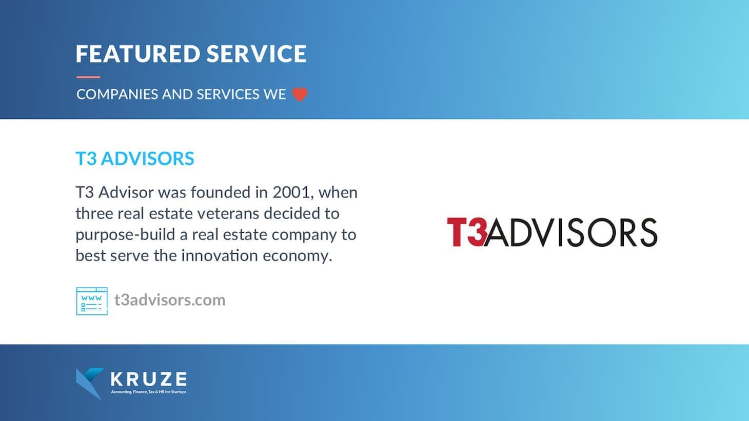 Featured Service - T3 Advisors