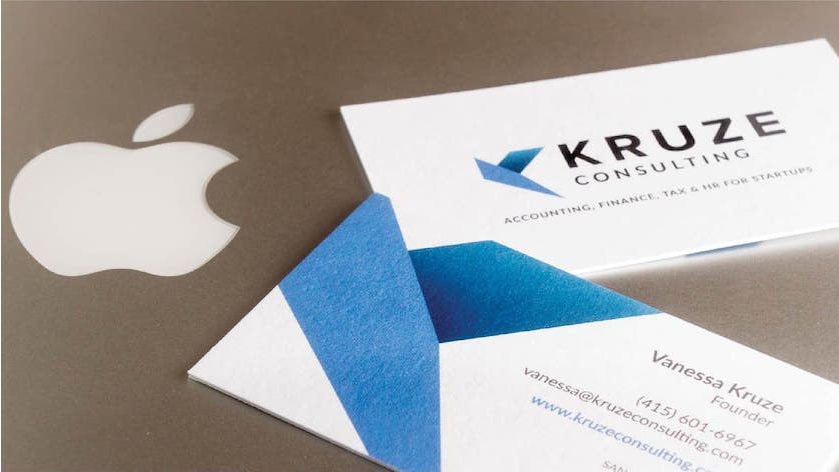 Kruze Consulting Business Cards