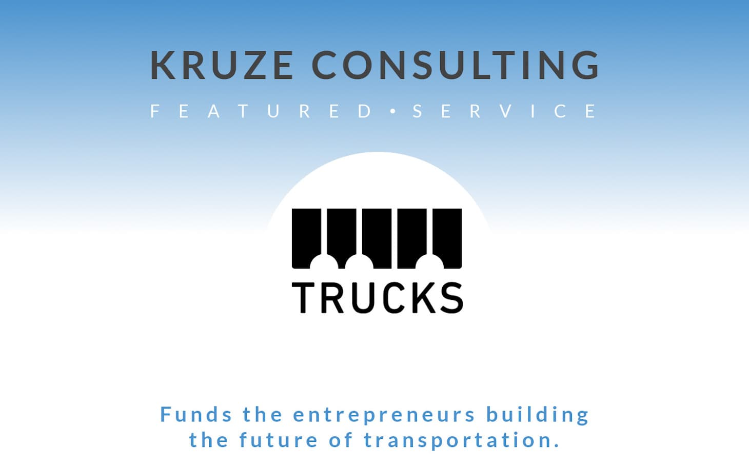 Featured Service - Trucks Venture Capital